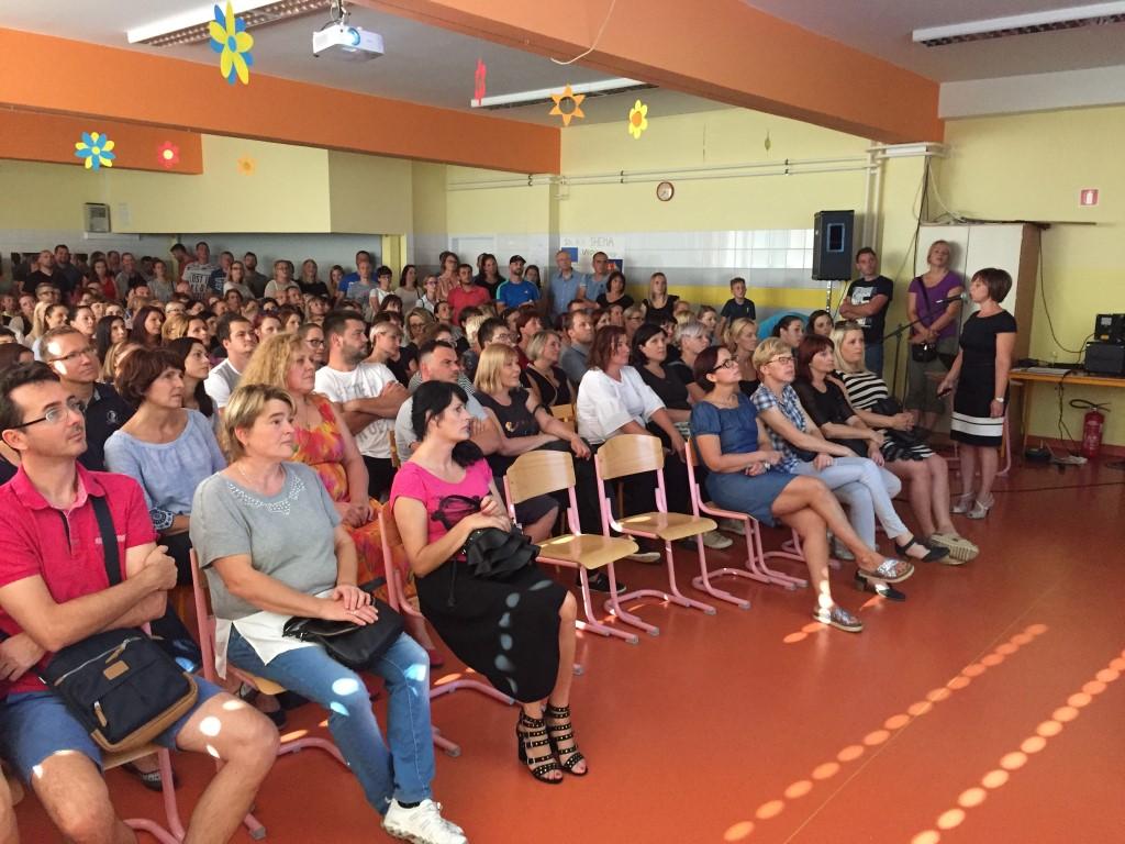 Prvi skupni roditeljski sestanek, september, 2018; foto: Darko Pepevnik